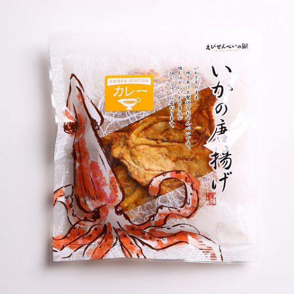 いかの唐揚げ カレー